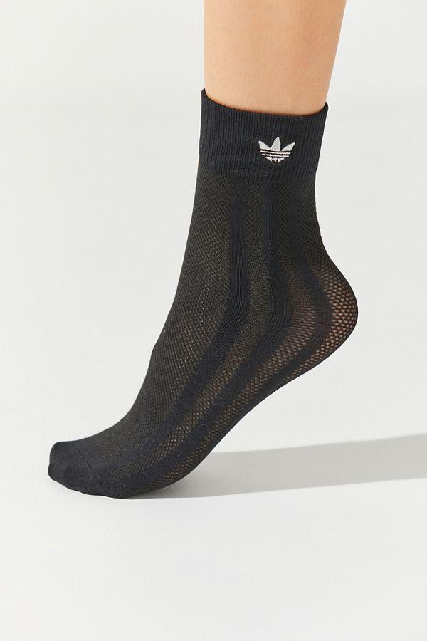 3c2f6817d adidas Originals Mesh 3-Stripe Crew Sock | Urban Outfitters