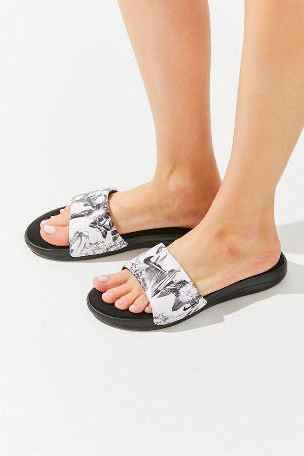 Nike Ultra Comfort 3 Floral Slide Sandal