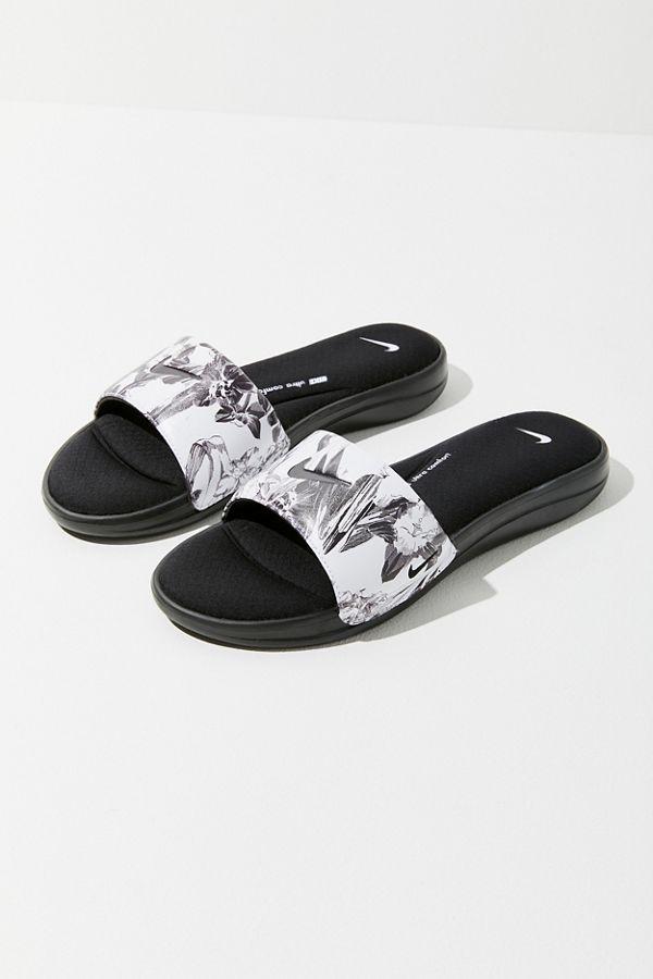 big sale 32a0b 84e16 Slide View  2  Nike Ultra Comfort 3 Floral Slide Sandal