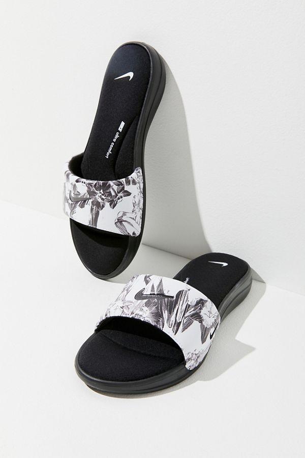 meet f3bab a45d0 Slide View  4  Nike Ultra Comfort 3 Floral Slide Sandal