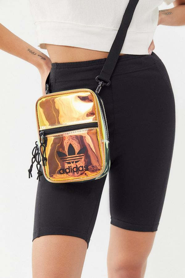 8172d7392b3 adidas Originals Iridescent Crossbody Bag | Urban Outfitters