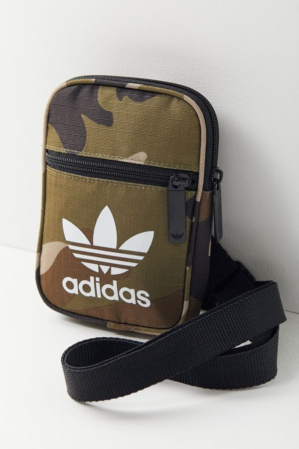 bd54a0fbd6 Slide View  2  adidas Originals Camo Festival Crossbody Bag