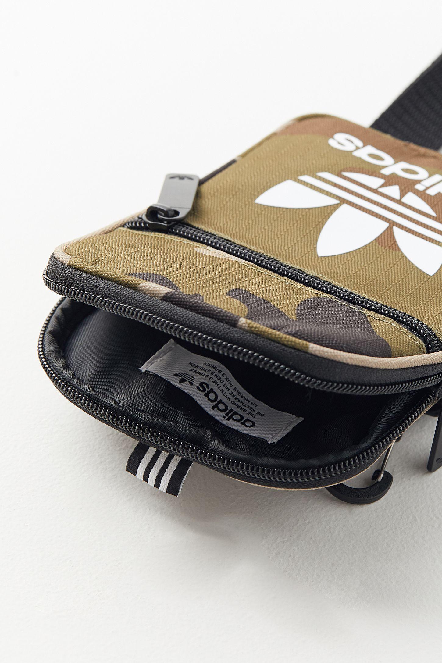 55654cbcc8 Slide View  4  adidas Originals Camo Festival Crossbody Bag