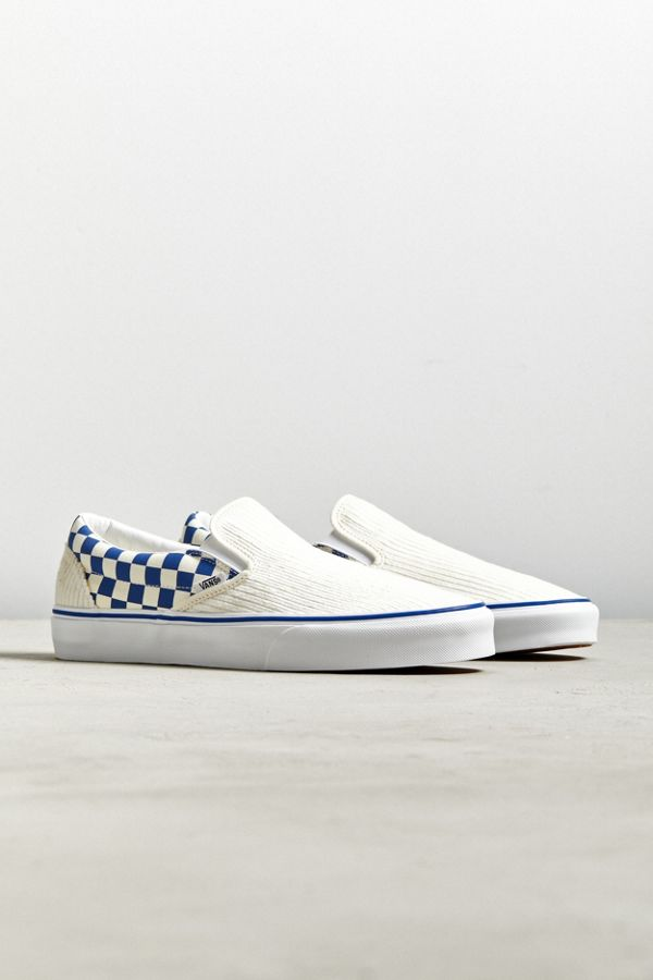 6fc6bcb04a Vans UO Exclusive Corduroy Checkerboard Slip-On Sneaker