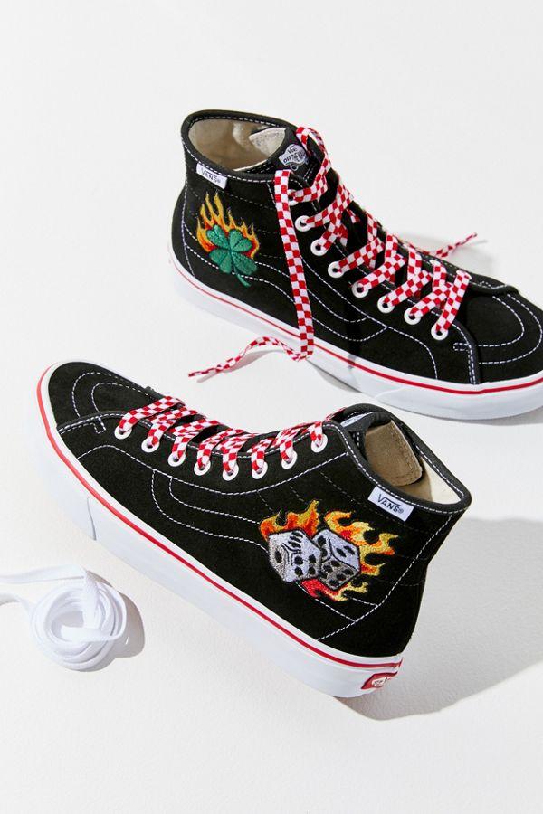 62816441f9 Slide View  1  Vans UO Exclusive Sk8-Hi Tattoo Sneaker