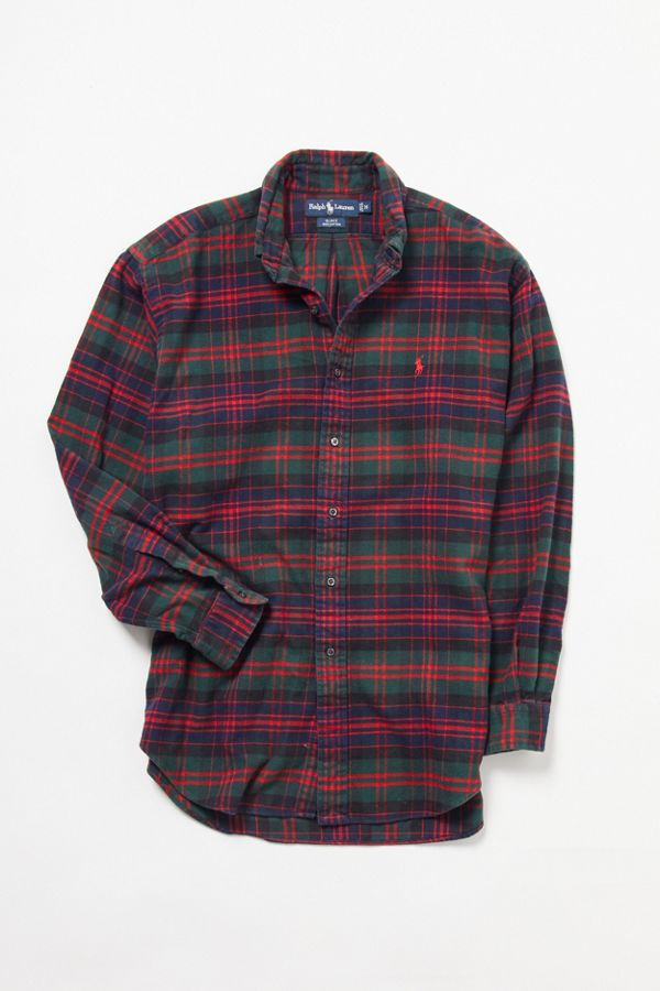 b1fcb8cba Vintage Ralph Lauren Blake Flannel Shirt | Urban Outfitters