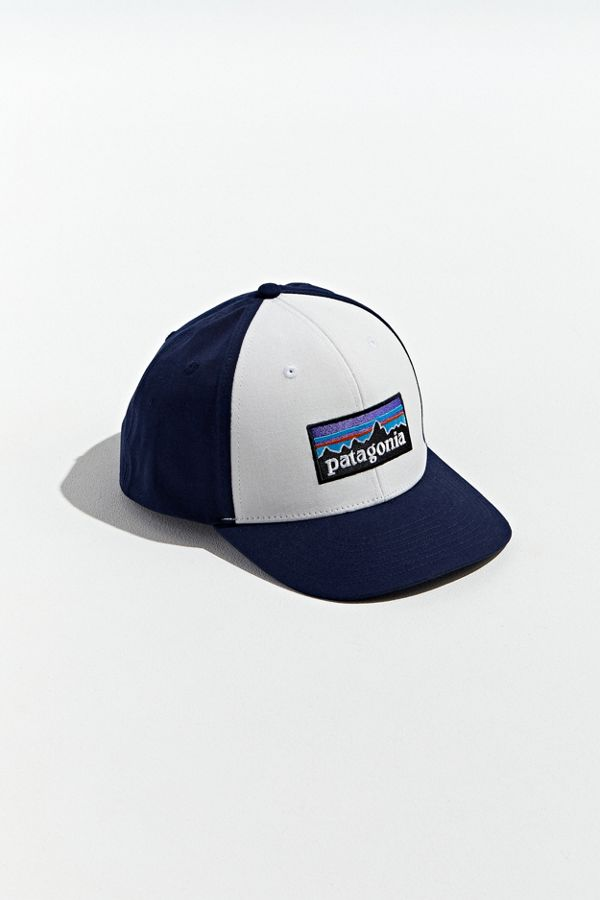 75ec8928 Patagonia P-6 Logo Roger That Snapback Hat   Urban Outfitters
