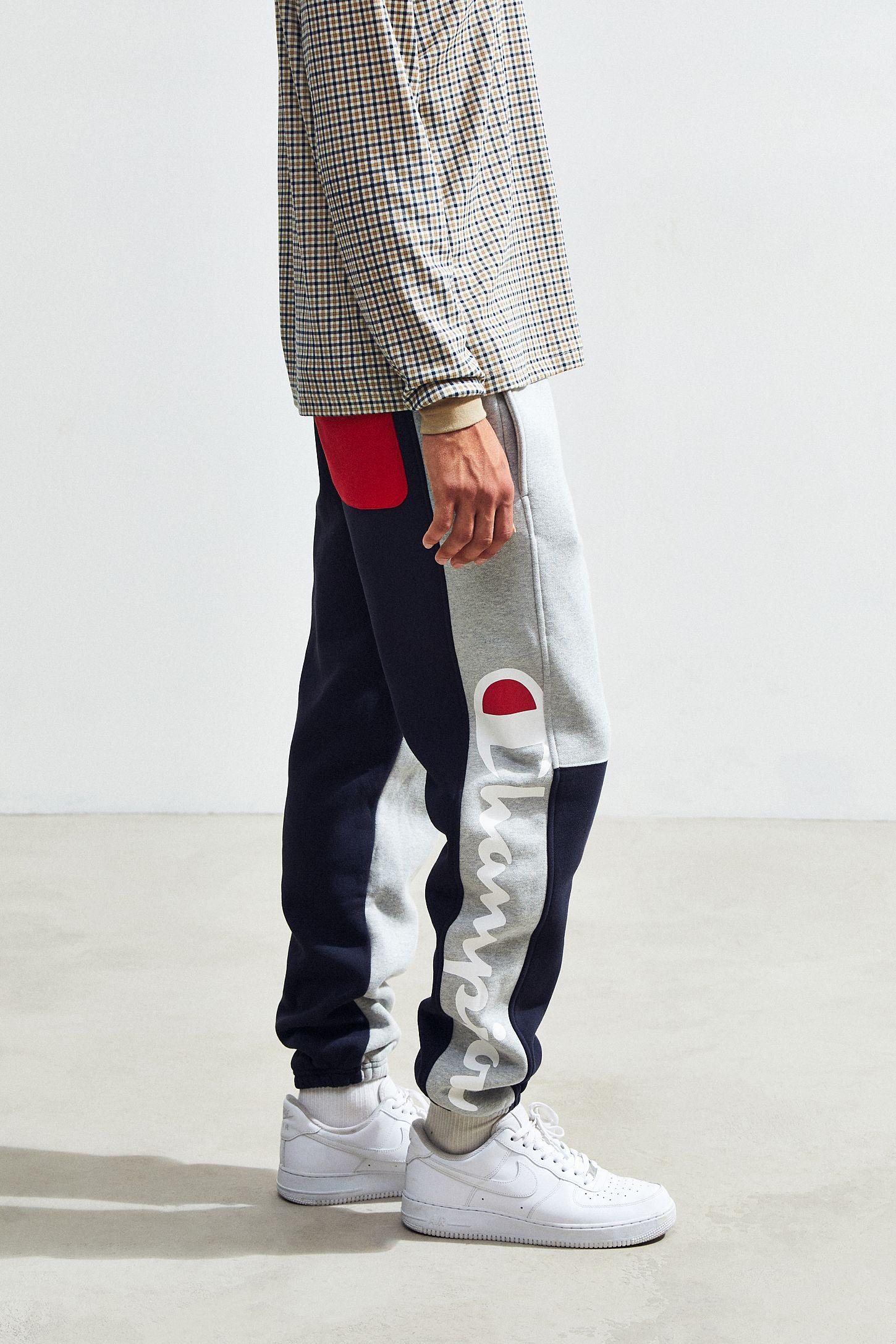 001b17a93ab3 Champion Reverse Weave Colorblock Sweatpant