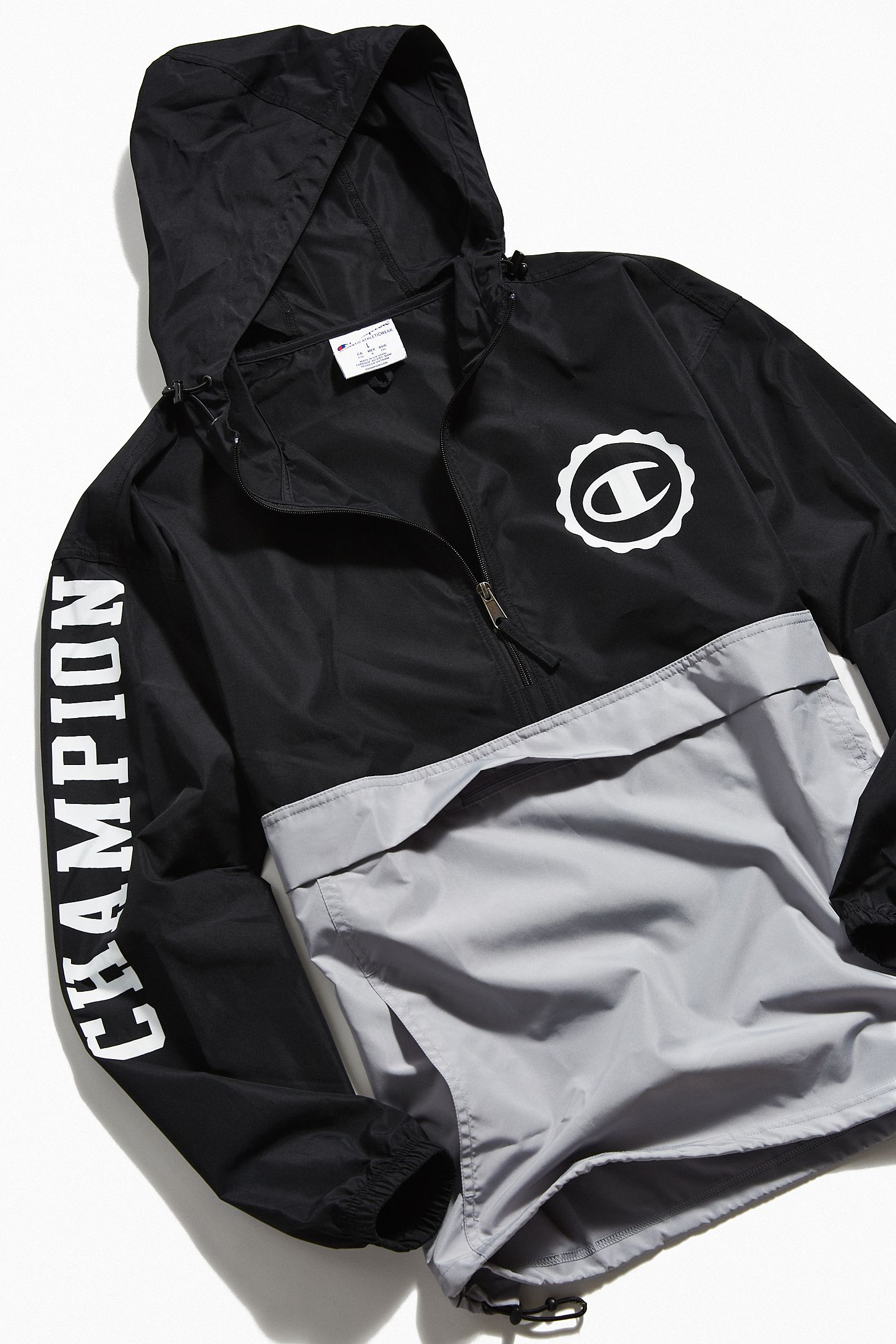 4463be5ed7d4 Champion UO Exclusive Colorblock Anorak Jacket