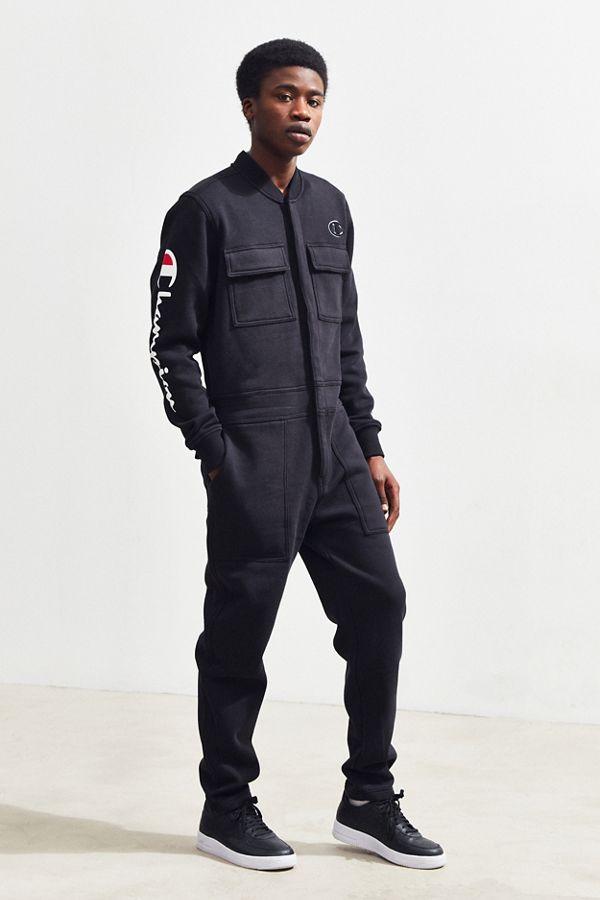957508d820f4 Champion Super Fleece 3.0 Coverall Jumpsuit