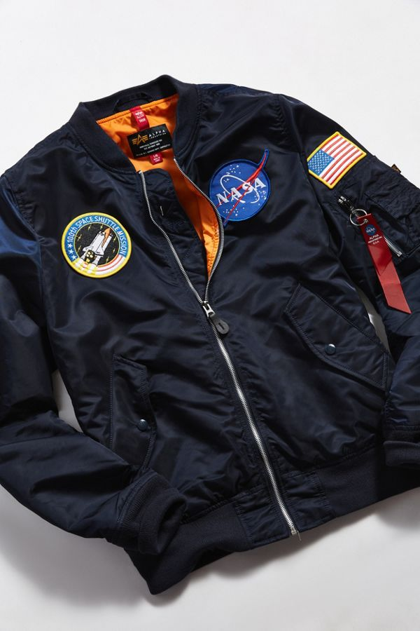 3fa29e62d Alpha Industries L-2B NASA Flight Bomber Jacket