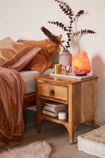 buy popular 1c5ee 306ca Andrea Carved Platform Bed | Urban Outfitters