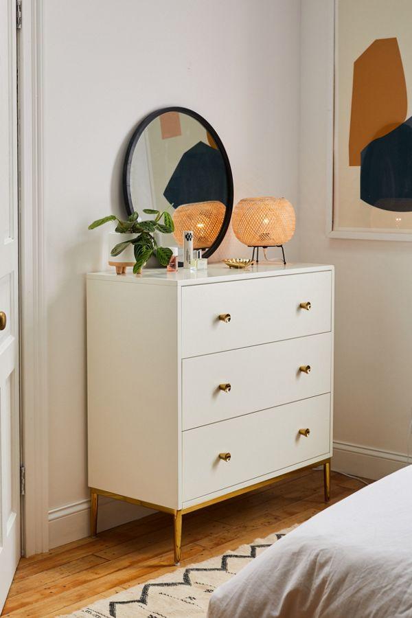 Cleo 3 Drawer Dresser