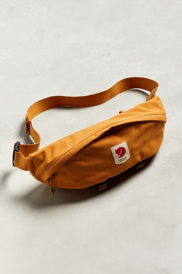 amazon buy cheap the cheapest Fjallraven Ulvo Large Yellow Sling Bag