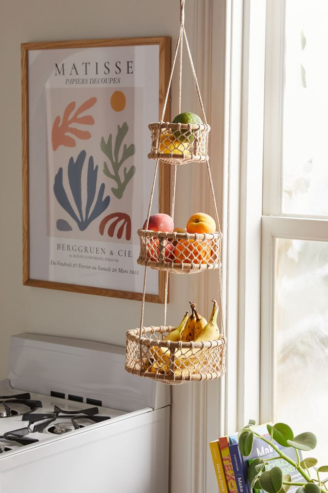 Three Tier Hanging Basket Urban Outfitters