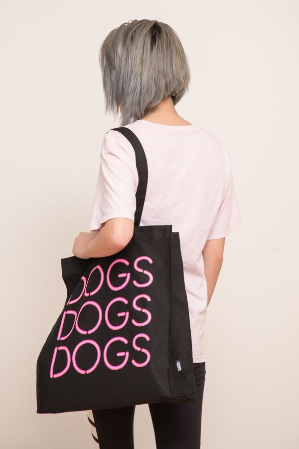 Slide View: 3: BARK Dogs Dogs Dogs Tote