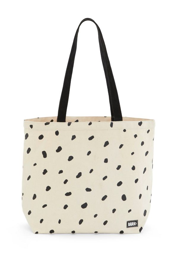 Slide View: 1: BARK Dalmatian Dog Park Tote Bag
