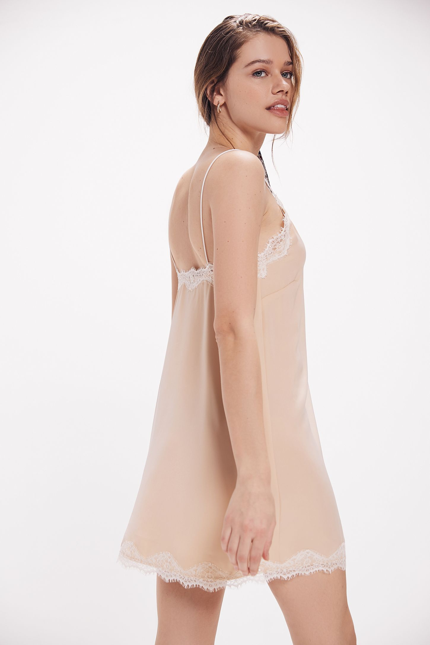 f70a2140e2e4 Out From Under Satin Slip Dress | Urban Outfitters