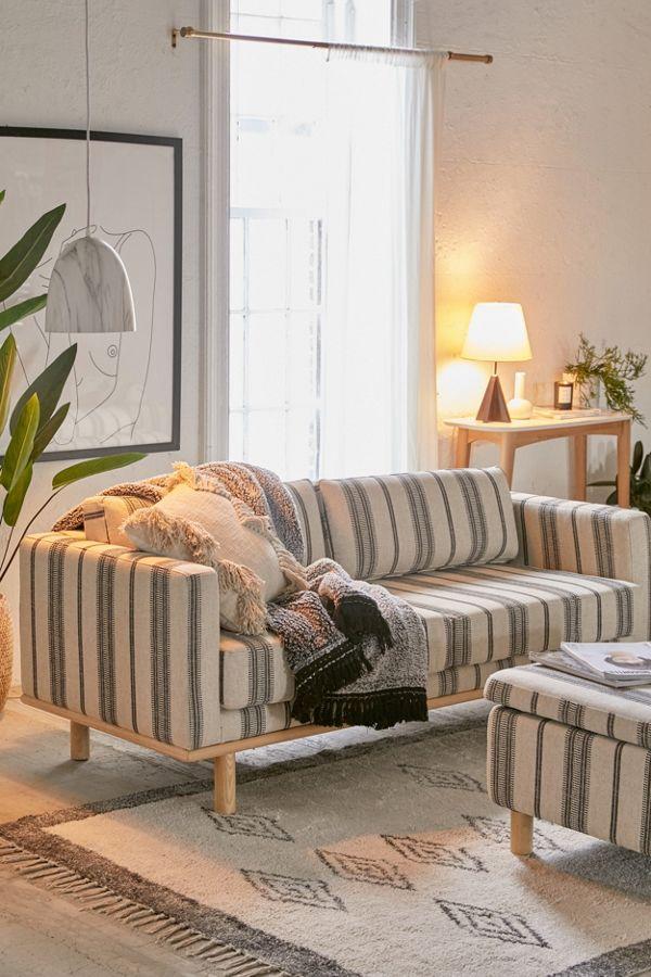 Awe Inspiring Quinn Striped Sofa Andrewgaddart Wooden Chair Designs For Living Room Andrewgaddartcom