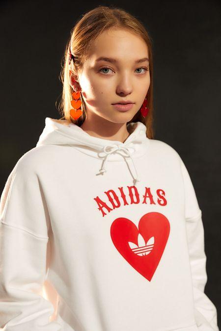 ca1b6efb24 adidas Heart Hoodie Sweatshirt · Quick Shop