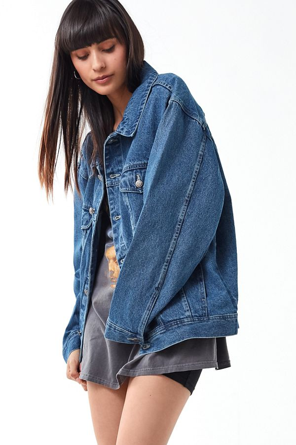 5ccdaf3ae222 Vintage Oversized Denim Jacket
