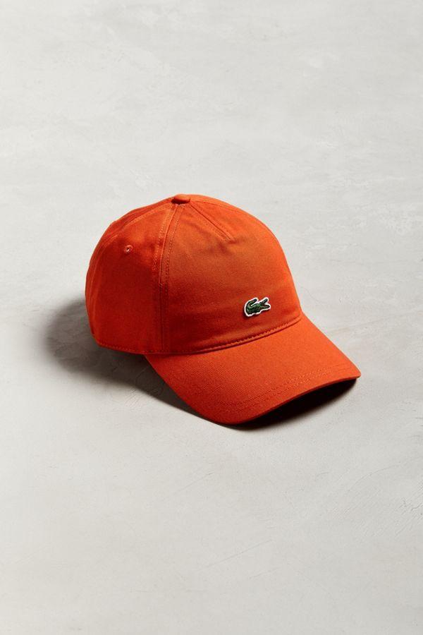 2c419daf261b1 Slide View  1  Lacoste Gabardine Baseball Hat