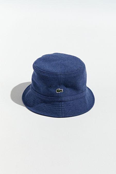 6315c488e2491 Lacoste Pique Knit Bucket Hat