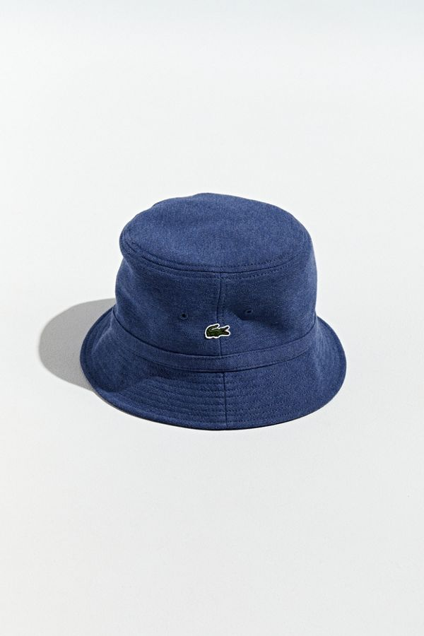 ef4f3099 Lacoste Pique Knit Bucket Hat | Urban Outfitters Canada
