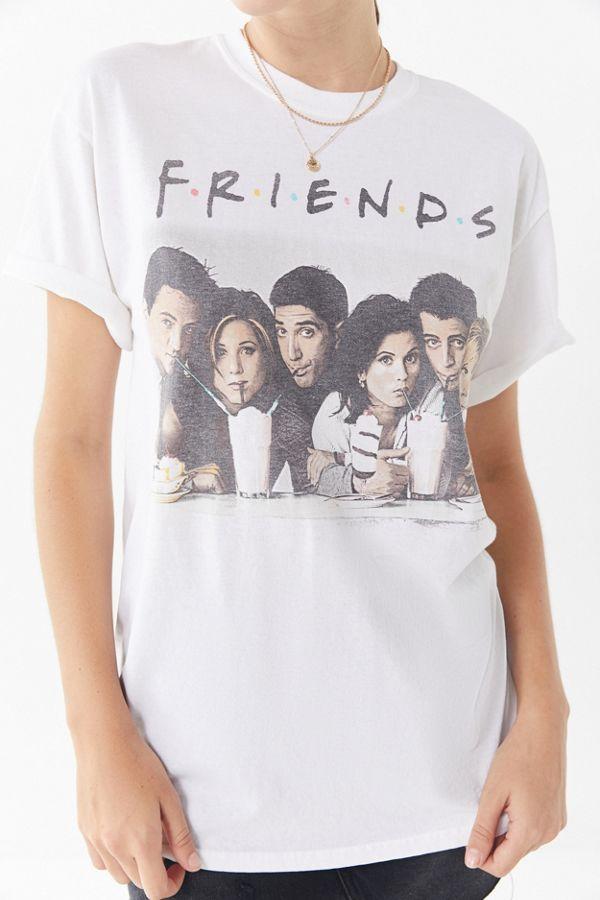 3c0ad897551c Friends Milkshake Crew-Neck Tee   Urban Outfitters