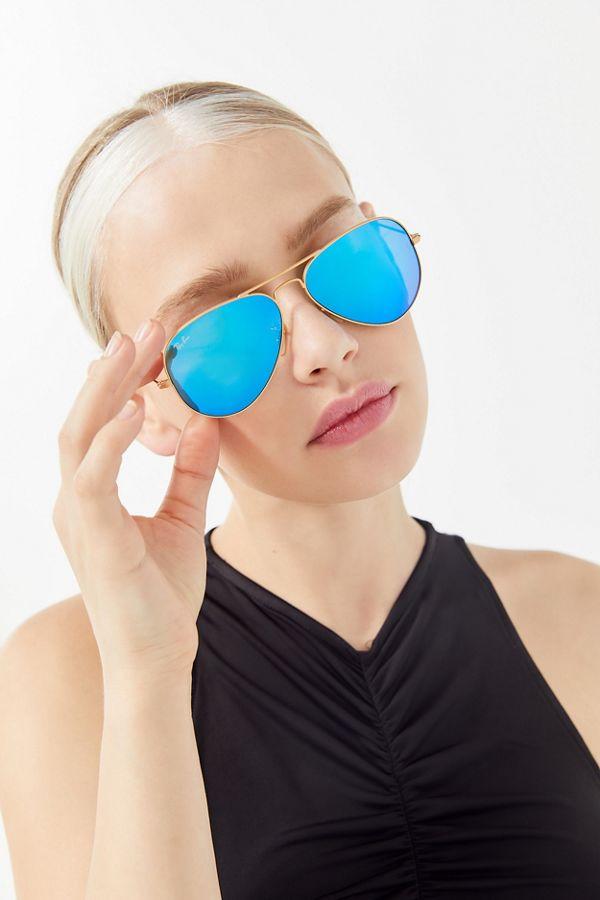 34b8158fa6592 Slide View  1  Ray-Ban Aviator Flash Sunglasses