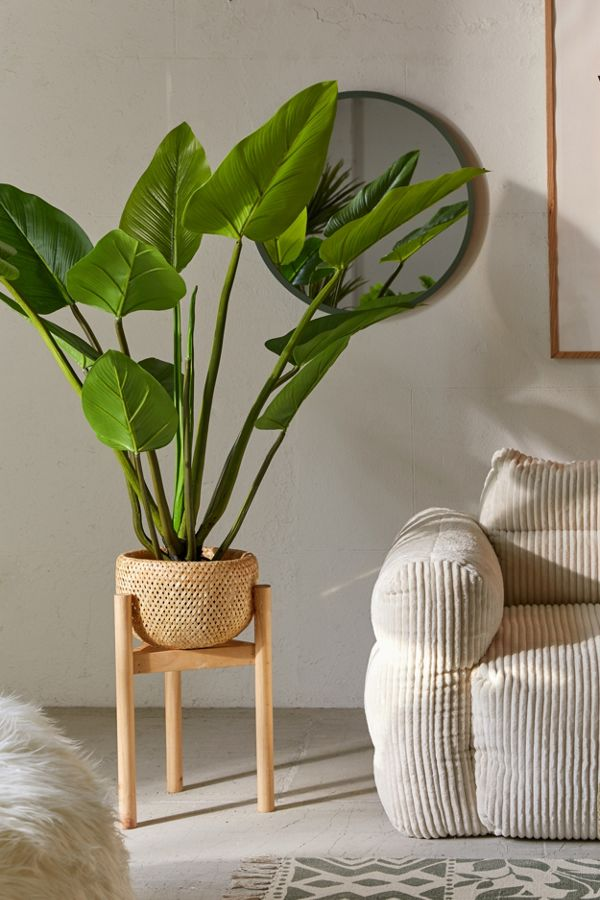 Slide View: 1: Eva Curcuma Potted Faux Tree