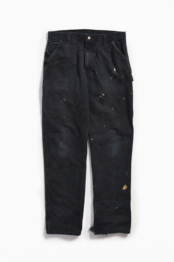 8915b856eb4 Vintage Carhartt Black Carpenter Pant | Urban Outfitters