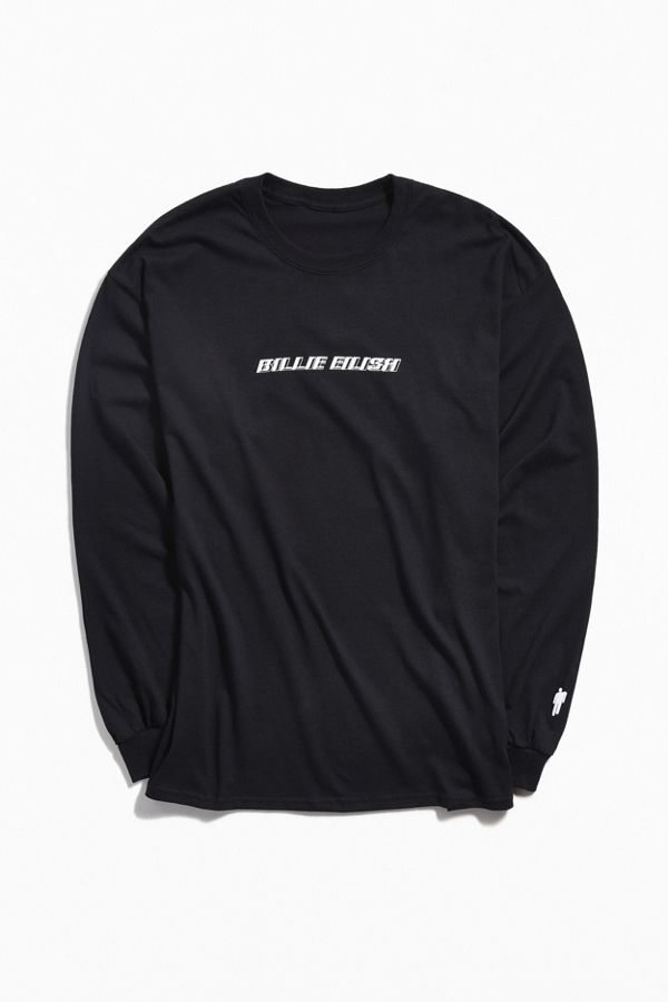 7f6b6c66a Billie Eilish Long Sleeve Tee | Urban Outfitters
