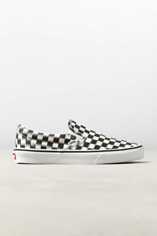 35c4de52c8 Slide View  1  Vans Blur Checkerboard Slip-On Sneaker