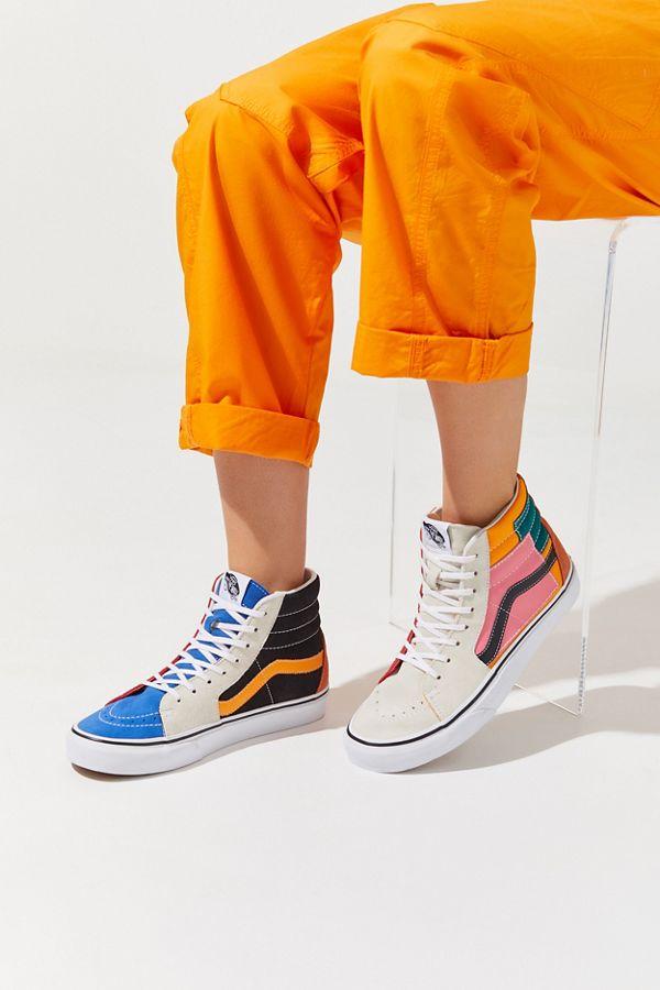 cae7ee30d1 Vans Sk8-Hi Patchwork Sneaker