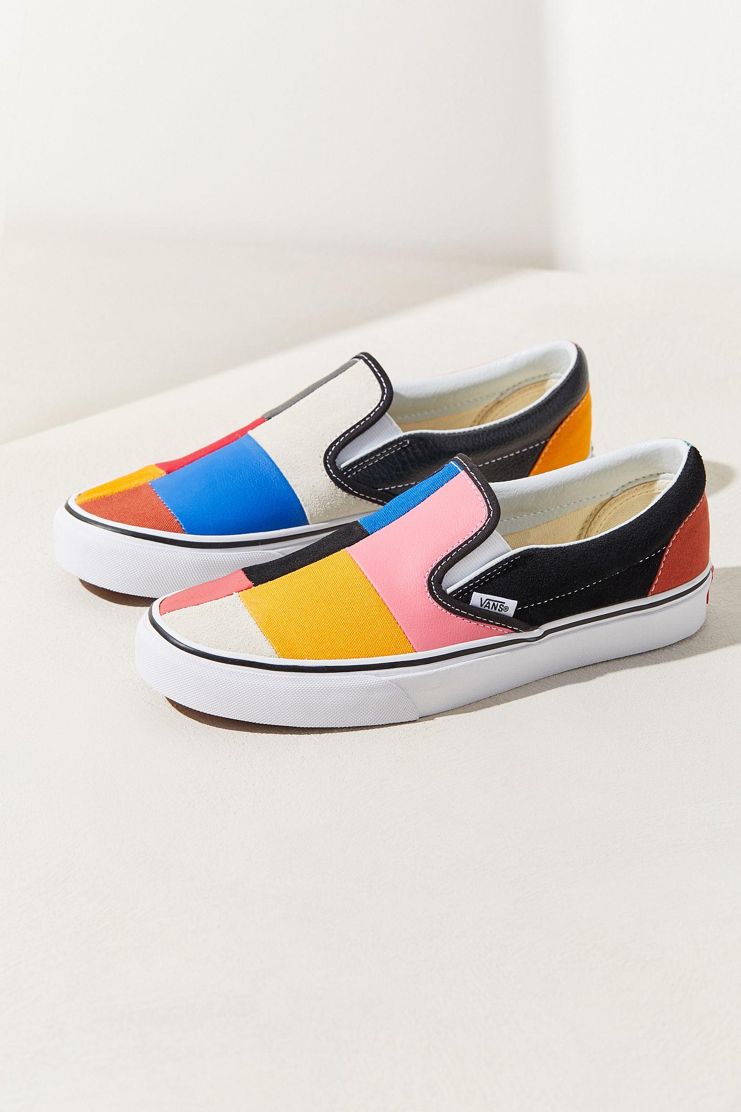 daf7a55e7a1 Vans Patchwork Slip-On Sneaker