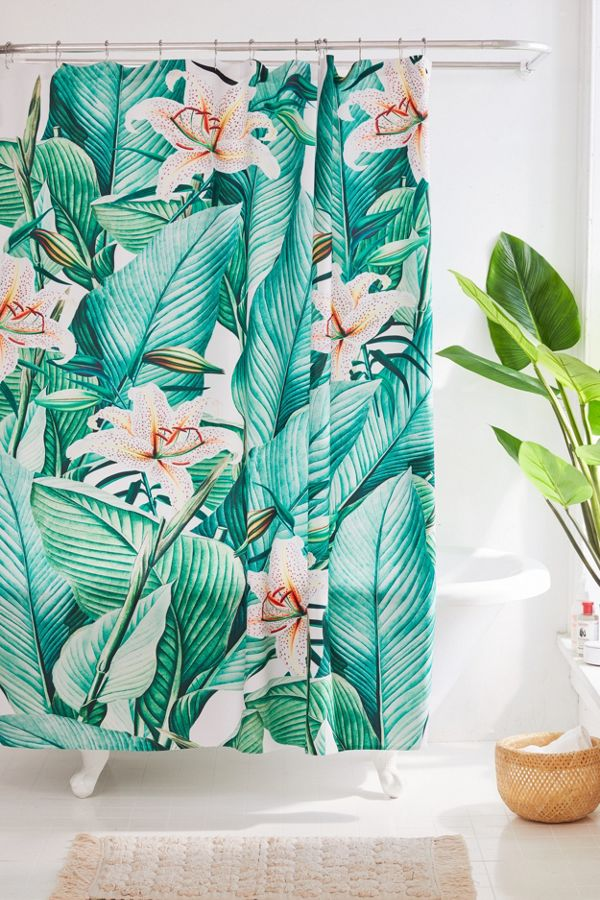 Rideau De Douche Tropical State Gale Switzer For Deny Urban