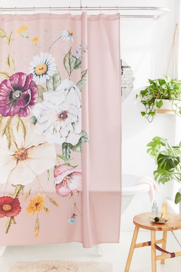 Slide View: 1: Shealeen Louise For Deny Wildflower Bouquet Shower Curtain