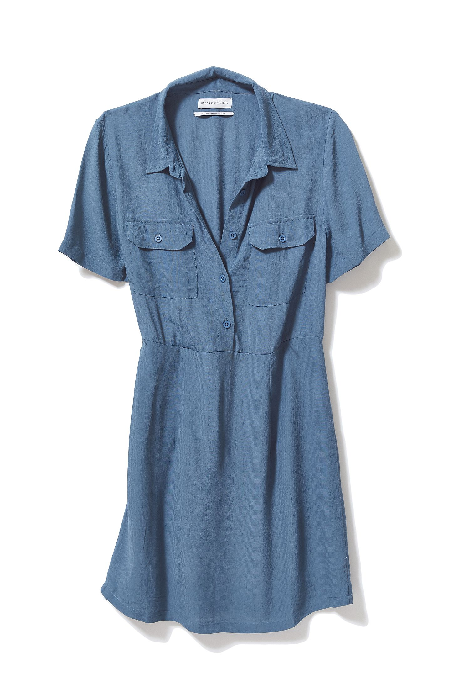 559effd871d44 Urban Outfitters Blue Shirt Dress - DREAMWORKS