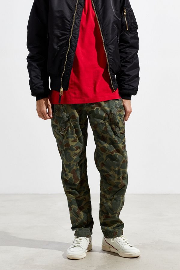 Nye G-Star Tapered Camo Cargo Pant | Urban Outfitters OQ-93
