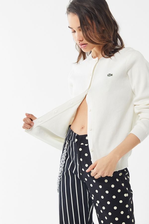 best sneakers more photos exquisite style Lacoste LIVE Button-Front Cardigan