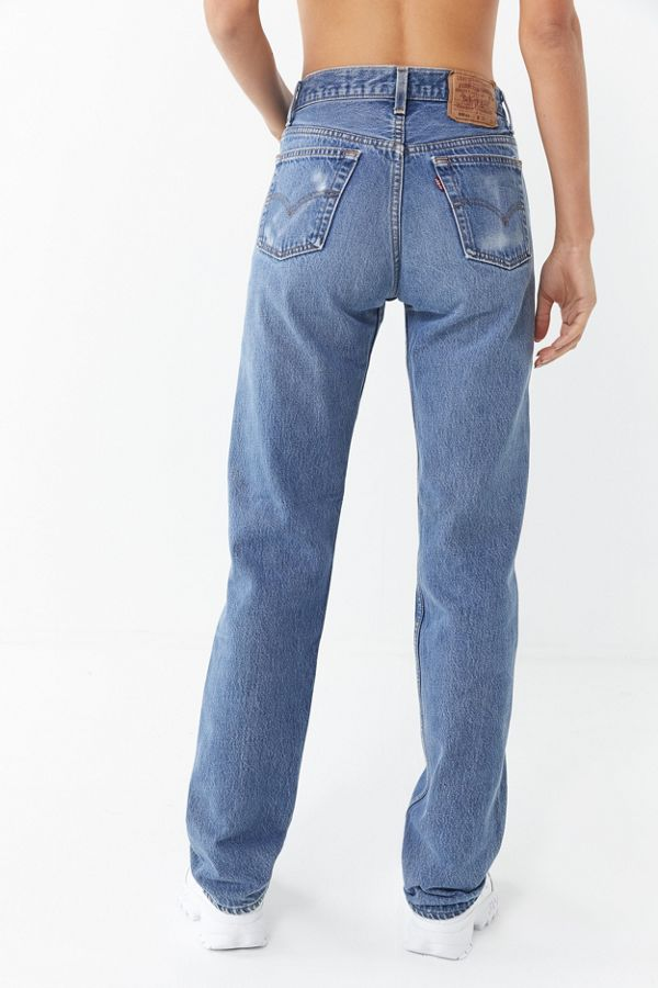6ae43752 Vintage Levi's 501/505 Straight Leg Jean | Urban Outfitters