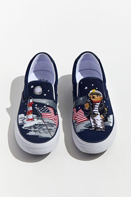 60cab9531e Polo Ralph Lauren Thompson Bear Slip-On Sneaker