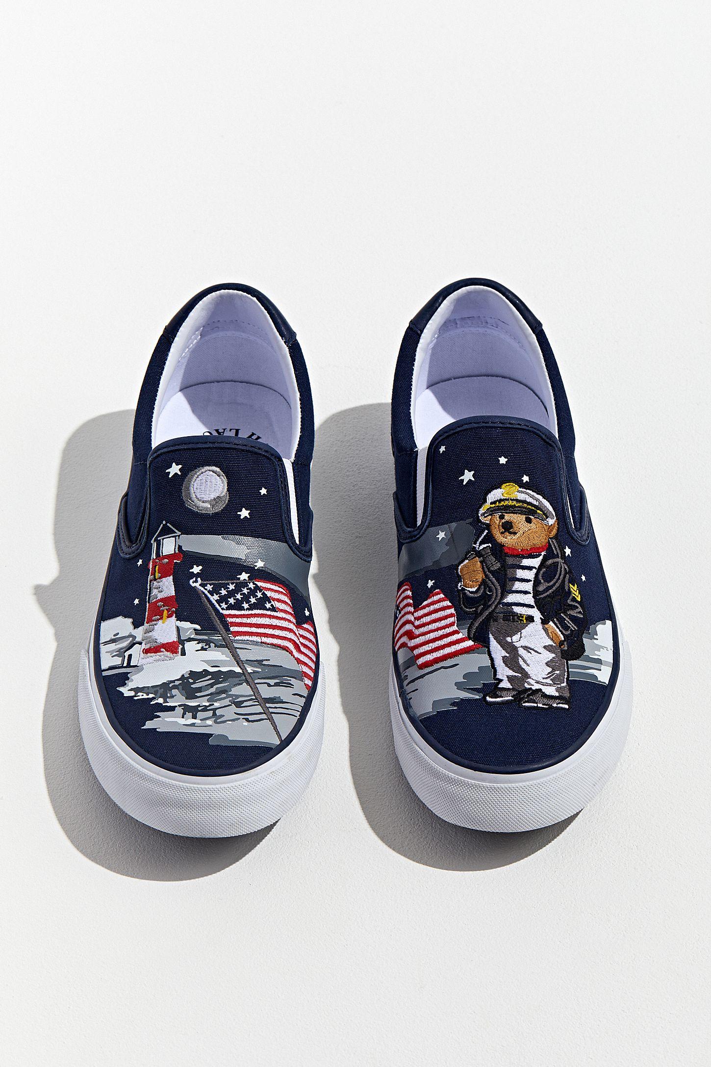 8fabb86d Polo Ralph Lauren Thompson Bear Slip-On Sneaker