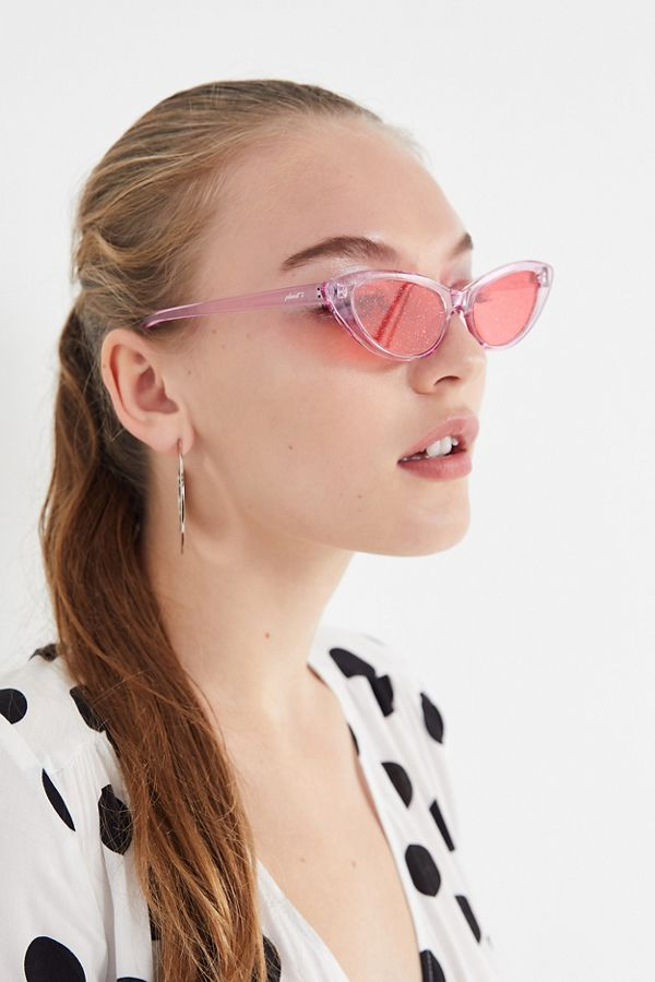 1287a3c98a2 Planet i Pink Electra Cat-Eye Sunglasses