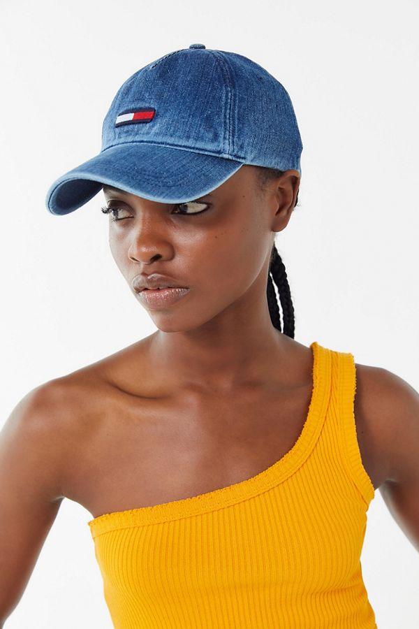 a76b35b4 Tommy Hilfiger Denim Flag Baseball Hat | Urban Outfitters