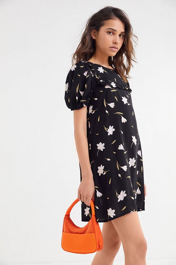 883ae6921244 UO Everly Floral Puff Sleeve Babydoll Dress | Urban Outfitters
