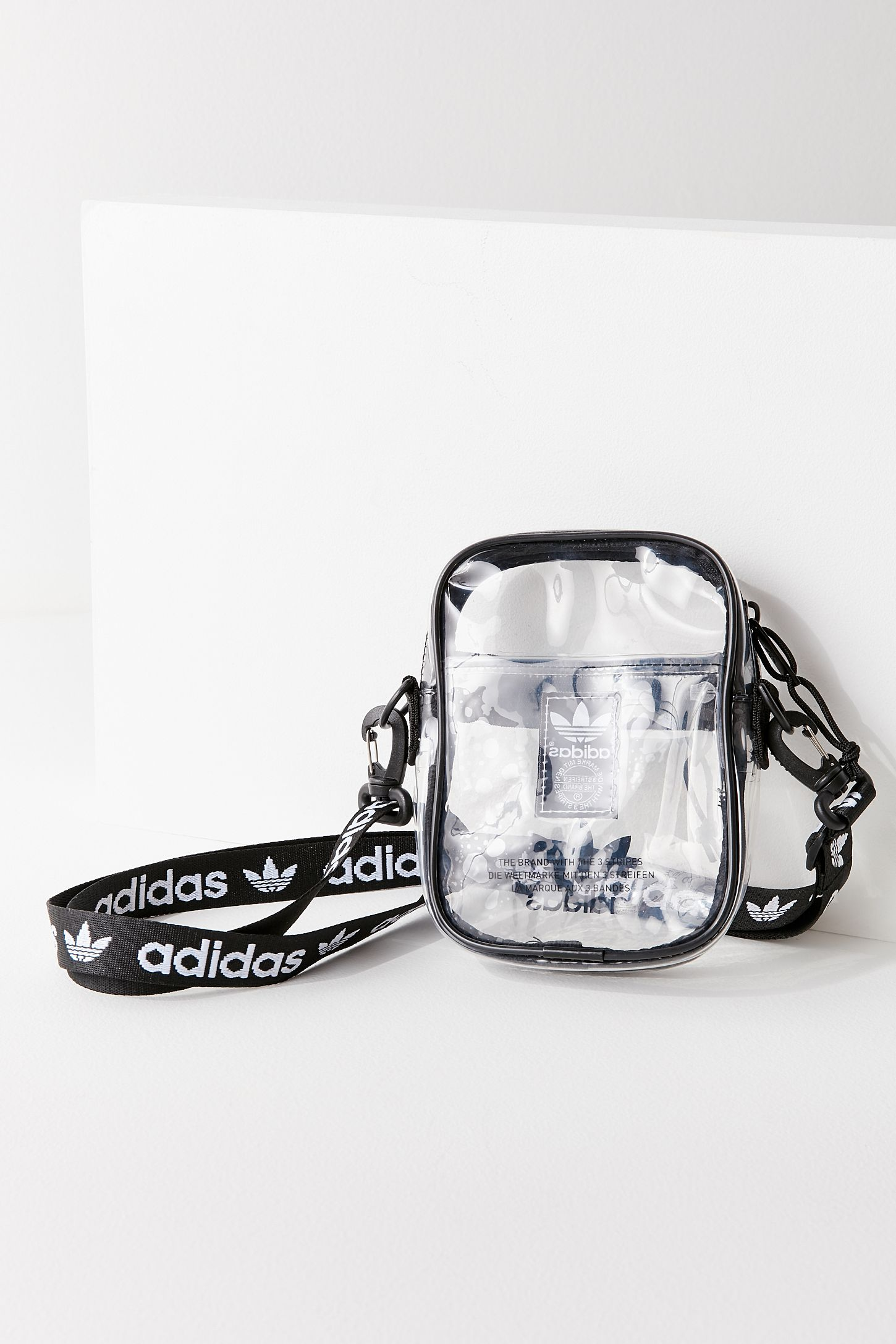 1bcd87a3a15 adidas Originals Clear Festival Crossbody Bag | Urban Outfitters