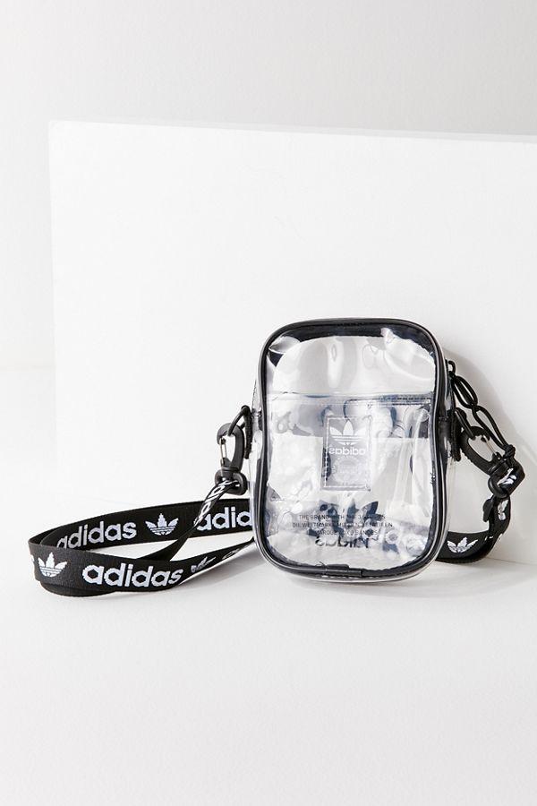 aa6ce57583 adidas Originals Clear Festival Crossbody Bag