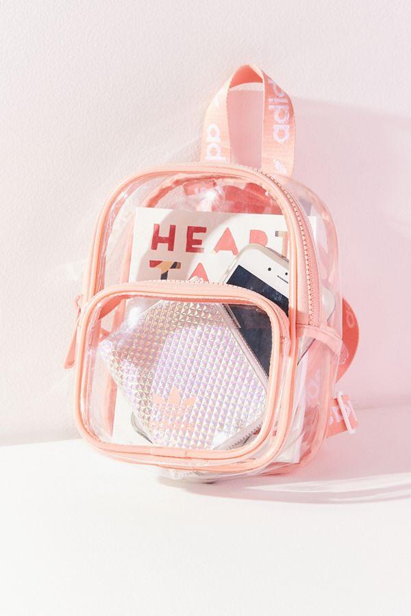 49c54dbbcf0 Slide View  1  adidas Originals Clear Mini Backpack